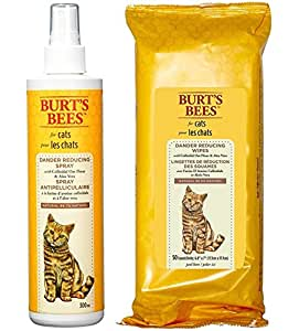 Amazon Com Burt S Bees For Cats Dander Reducing Spray