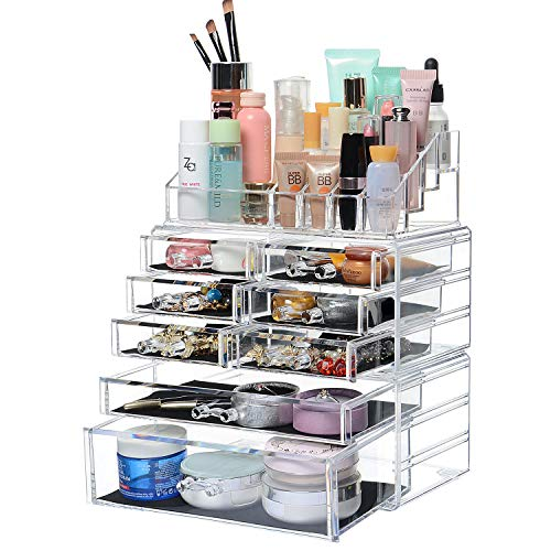 SortWiseTM Detachable Acrylic Cosmetic Makeup Organizer for sale  Delivered anywhere in Canada
