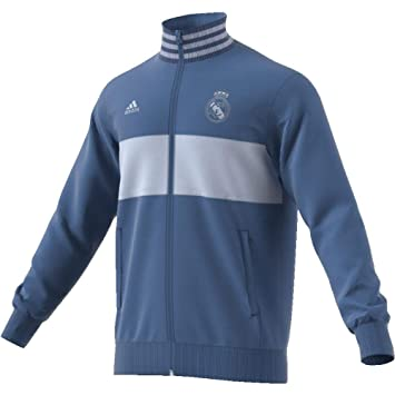 adidas Herren Real Madrid 3 Streifen Trainingsjacke: Amazon