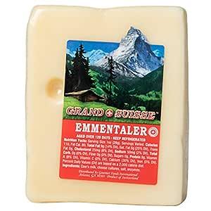 GRAND SUISSE Imported Swiss Emmentaler, 8 oz