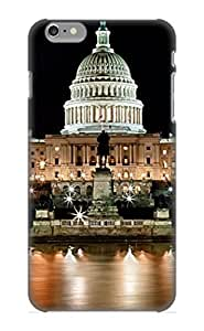 Durable Case For The Iphone 6 Plus - Eco-friendly Retail Packaging(Us Capitol Building And Reflecting Pool At Fall Night 3)