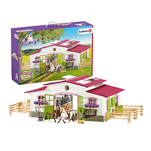 Schleich, Horse Club Riding Center with Accessories Set (42344)