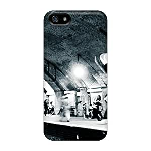 For Iphone 5/5s Tpu Phone Case Cover(london Underground) wangjiang maoyi