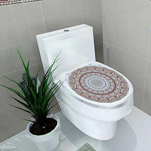 (Auraise-home Decal Wall Art Decor Drawings for Finishing Floors Porcelain Tiles and Floor Tiles Ative Floors of Mosaic erials for Toilet Decoration W6 x)