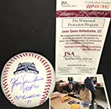 Fergie Jenkins Chicago Cubs Autographed Signed Official Major League 2014 100th Anniversary OF Wrigley Field Baseball JSA COA HOF 91 & CY YOUNG NL 71
