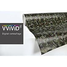 Digital Camo vinyl car boat vehicle wrap 2ft x 5ft self adhesive stretch conform decal DIY