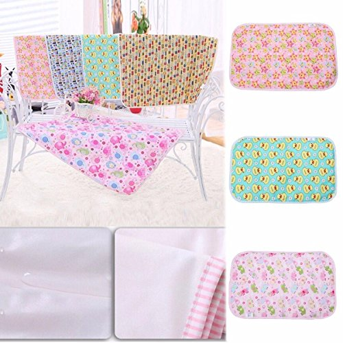 NPLE--Baby Infant Diaper Nappy Urine Mat Kid Waterproof Bedding Changing Cover Pad