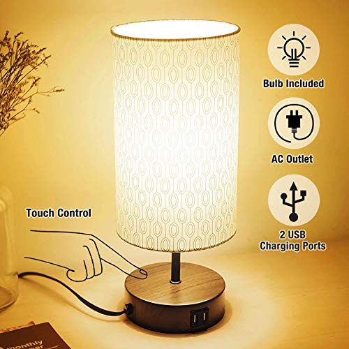 3-Way Touch Control Dimmable