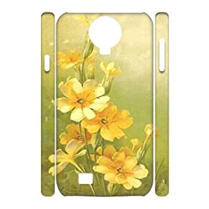 Vintage Flower Watercolor Customized 3D Cover Case for SamSung Galaxy S4 I9500,custom phone case ygtg587201