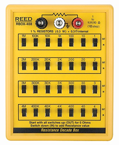 REED Instruments R5408 Resistance Decade Box by REED Instruments