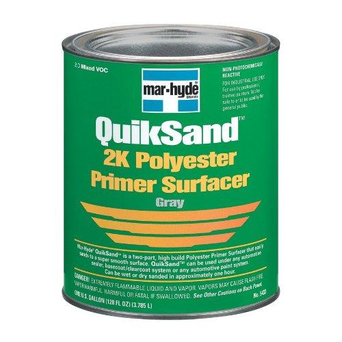 (Mar-Hyde 5433 Quick Sand Gray Polyester Primer - 1 Gallon)