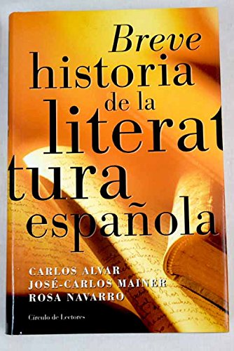 Breve historia de la literatura española: Amazon.es: Libros