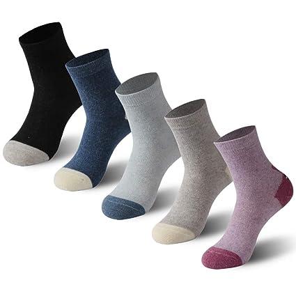 991eda8bc Amazon.com  Calbom Ladies Wool Socks Novelty