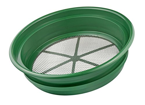 """Price comparison product image SE GP2-18 Patented 13-1 / 4"""" Stackable Sifting Pan,  1 / 8"""" Mesh Screen"""