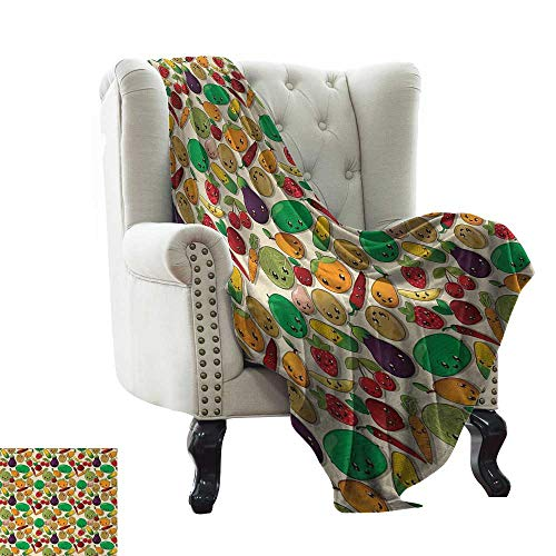 Throw Blanket African Woman,Young Women in Stylish Native Costumes Carnival Festival Theme Dance Moves,Multicolor 90