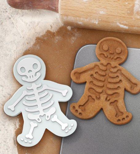 Un emporte-pièces en forme de squelette : pour des biscuits tout mignons