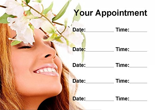 Spa Treatment Beauty Hair Nails Massage Personalized Appointment Cards