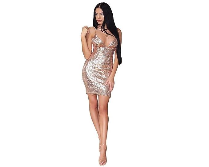 Vestidos de Fiesta de Noche Elegantes De Mujer Casuales ...
