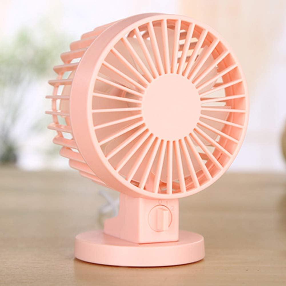 White shengyuze Portable Fans Rechargeable Mini Home Office Electric USB Fan Computer Desktop Cooler Ventilator