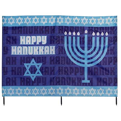 Hanukkah Yard Card Holiday Decoration