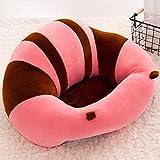 Lecent@ Infant Safe Sitting Chair Comfortable Nursing Pillow Protectors for 3-10 Months (Pink)