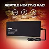 iPower 8 X 18 Inch Reptile Heat Mat Under Tank Heater 24W Terrarium Heating Pad for Small Reptiles and Amphibians