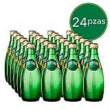 Perrier Agua Mineral Natural, 330 ml, 24 Piezas