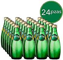 Perrier Agua Mineral Natural, 330 mililitros, Paquete de 24