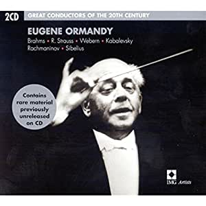 Eugene Ormandy Great Conducto