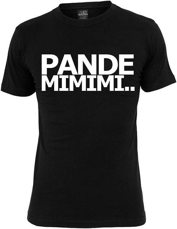 Coronavirus - PANDEMIMIMI. Camiseta divertida – Hombre Mujer Niños – Covid19 – SARS-CoV-2 – Erkältung – Quarantäne – Infección – Talla S – 4XL – Negro