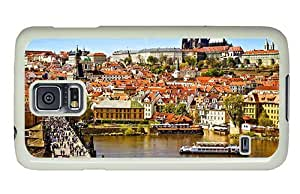 Hipster Samsung Galaxy S5 Case free prague PC White for Samsung S5 by lolosakes