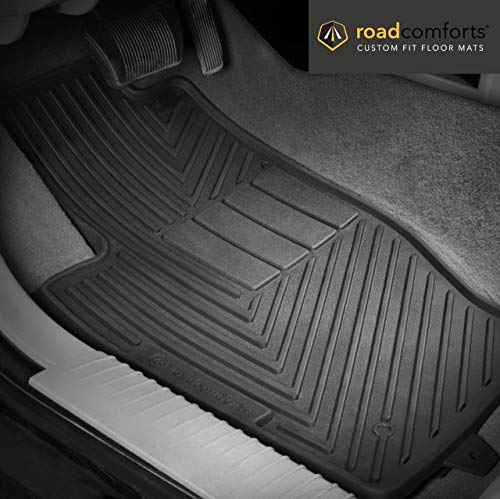 (RoadComforts 43492 Custom Fit All-Weather Floor Mat for 2006 Mercury Mountaineer First Row Only)
