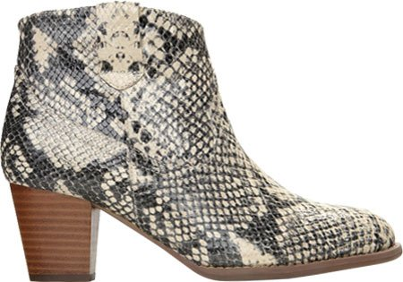 Vionic Womens Upright Windom: Ankle Boot (Natural Snake, 5)
