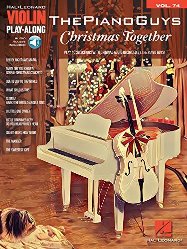 The Piano Guys - Christmas Together: Violin Play-Along Volume 74 (Hal Leonard Violin Play-Along)