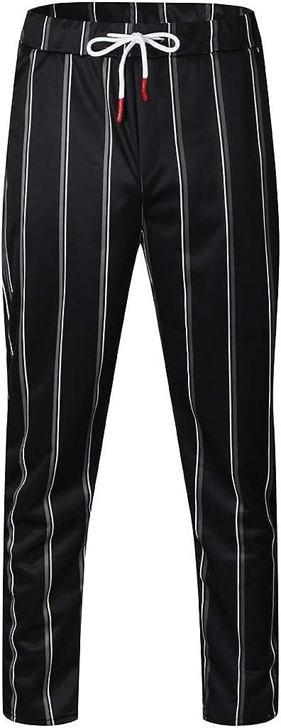 Alalaso Pantalones Holgados De Malla Para Hombres
