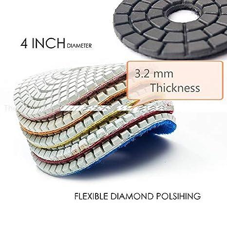 "24 Piece 4/"" Diamond Floor Repair Polishing Pads Concrete Terrazzo Granite marble"