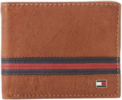 Tommy Hilfiger Men's Yale Double Billfold Wallet