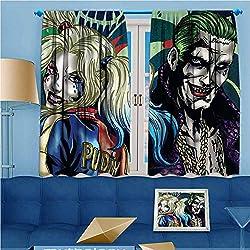 51doJnznwSL._AC_UL250_SR250,250_ Harley Quinn  Curtains