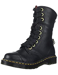 Dr. Martens Women's Aimilita Aunt Sally Leather Fashion Boot