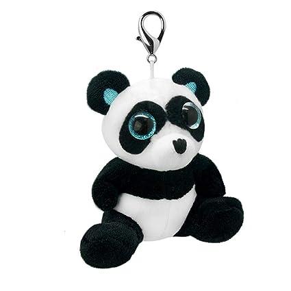 Wild Planet Orbys-Llavero de Peluche Panda 10cm Hecho a Mano ...