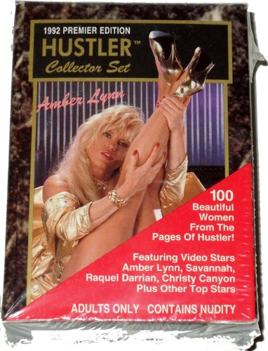 1992 Premier Edition Hustler Complete Fantasy Collector Set - 100 Cards! LIMITED EDITION! - Savannah & Christy Canyon