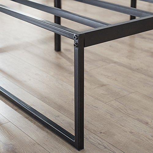 Zinus 14 Inch Platforma Bed Frame, Mattress Foundation, No Box Spring needed, Steel Slat Support, King by Zinus (Image #5)