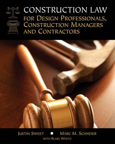 Construction Law for Design Professionals, Construction Mana