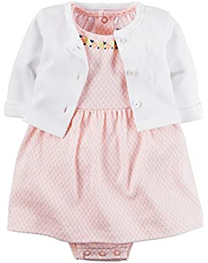 Baby Girls' 2 Piece Dress Set (Baby)!