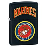 Gifts Infinity® Personalized U.S. Marines Black Matte LIGHTER - Free Engraving