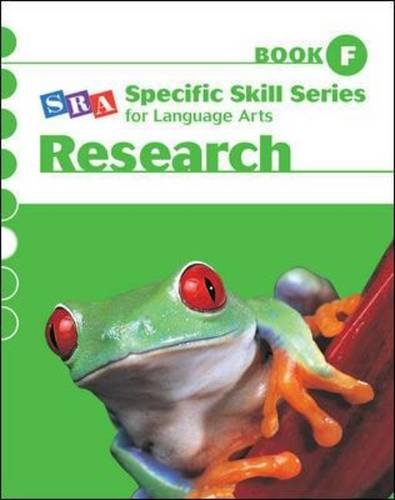 Specific Skill Series for Language Arts - Research Book - Level F