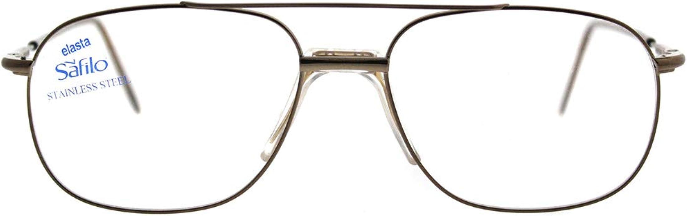 Eyeglasses Safilo Elasta 7201 01WK Light Brown