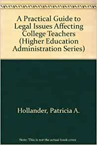Handbook for Student Law for Higher Education Administrators