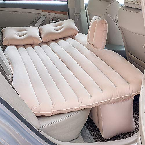 NEX Car Inflatable Mattress Car Backseat Bed for Universal SUV, Saloon Car and MPV ()