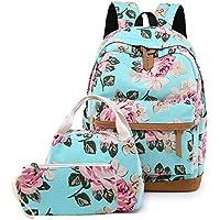 Lmeison Backpack Daypack Shoulder School Bag Laptop Bag, Unisex Fashion Rucksack Laptop Travel Bag College Bookbag